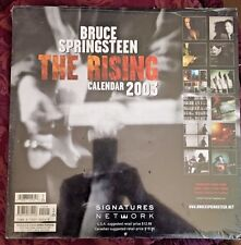 RARE BRUCE SPRINGSTEEN THE RISING 2003 CALENDAR BRAND NEW SEALED no CD lp