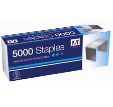 Anker Grapas 5000 x 6mm Para Grapadoras Metal Pins Oficina Hogar Escuela 26/6