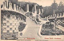 B94407 parque guell escalinata barcelona  spain