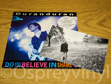 DURAN Do You Believe In Shame? Partie 3 + postcard EX Shop Stock 1989 DDC 12
