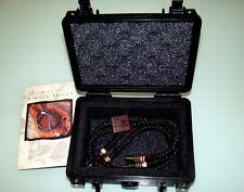 Kimber Select KS-1030 HiFi High End Pure Silver Cinch/RCA Kabel 0,75m / WBT-0108