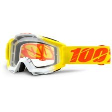 100% Percent Accuri Goggle Zest Clear Goggles MX Motocross ONE-50200-160-02