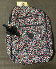 KIPLING Seoul KI1207 15″ Laptop Backpack Bag 27L 7 GAL Glistening Poppy Blue