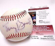 JSA Tony Bennett Signed Autographed baseball Ball Left My Heart In San Francisco