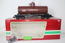 LGB G SCALE #4080-Y03 RGS SINGLE DOME WATER TANK CAR, EXCELLENT, BOXED