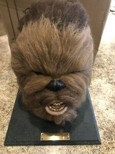 Rare 1996 Star Wars Chewbacca Life Size Head Bust Mask Illusive Concepts Awesome