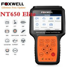 FOXWELL OBD2 OBDII Diagnostic Scanner EPB SAS BMS DPF ABS SRS AT Oil Reset Tool