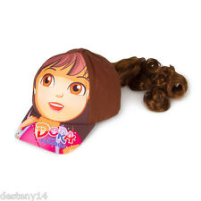 Dora the Explorer Girl's Baseball Cap with Faux Hair Dora and Friends