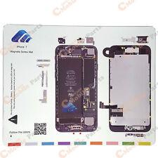 """New!!! iPhone 7 4.7"""" Magnetic Screw Chart Mat Repair Guide Pad Tool USA Seller"""