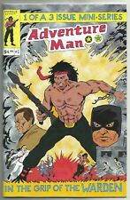 Adventure Man #1 (Based on 1980s Knock-Off Toy Line) Sparkle Comics, 2017