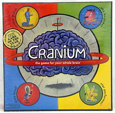 Cranium The Game For Your Whole Brain 2002 Edition New in Sealed Box Hasbro NIB