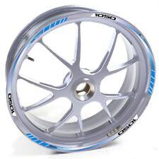 ESES Pegatina llanta Triumph plata Tiger 1050 Azul adhesivo cintas vinilo