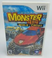 Monster 4x4: world racer (Nintendo Wii) Complete & Tested - FREE US SHIP!