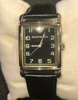 Emporio Armani Mens Leather Band AR-0206 Wrist Watch