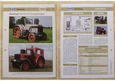 HANOMAG Traktor Schlepper R 40 HG Holzgasanlage 1942 Weltbild