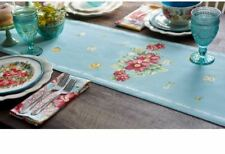 """Pioneer Woman Vintage Floral Dining Table Runner 72"""" x 14"""" Reversible Decoration"""