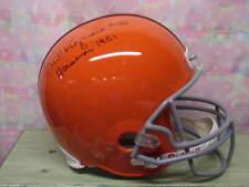 Dick Kazmaier Auto Princeton F/S Helmet 1951 Heisman Rip!