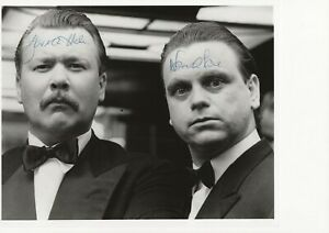 10 x 8 photo  hand signed HALE AND PACE ,  - AFTAL COA  -  undedicated