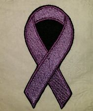Lupus awareness ribbon motorcycle biker vest patch iron on custom made New