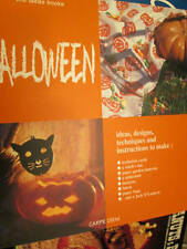 Ideas Books Halloween Craft/Painting Book -Cats/Pumpkins/Witches