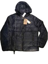 NWT! ABERCROMBIE & FITCH Men's L Lightweight Down-Filled Packable Puffer Jacket