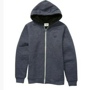 BILLABONG All day Sherpa Lined Hoodie Zip Up 16 Years