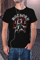 BATHORY Men T-shirt Swedish Black Trash Metal Tee Shirt Venom Mayhem