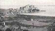 HAUT- CORSE (CORSICA) . Vue Générale de Calvi 1900 old antique print picture