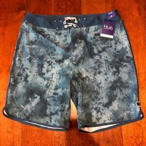 """HUK Classic 20"""" Boardshort Size 38 Color Flow NWT"""