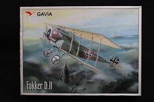 XS042 GAVIA 1/48 rare maquette avion 003/1199 Fokker D.II