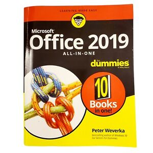 Microsoft Office 2019 All-in-One For Dummies by Peter Weverka Paperback