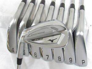 Used LH Mizuno JPX 921 Iron Set 4-P,G Regular Flex Steel Shafts