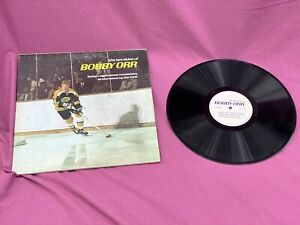 TWO LP SET! BOSTON BRUINS ALBUMS FROM THE 60'S. BOBBY ORR / BRUINS