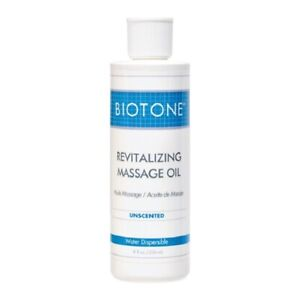 Biotone Revitalizing Massage Oil Unscented 8 oz