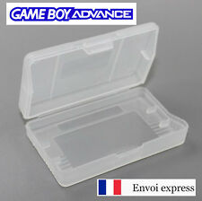 Boitier plastique Game Boy Advance neuf [Boite crystal Gameboy GBA] Case FRANCE