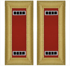 GENUINE U.S. ARMY SHOULDER STRAP: WARRANT OFFICER 4: ARTILLERY