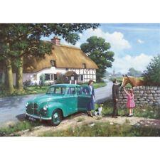 Austin A40 Devon Classic Car Blank Birthday Fathers Day Card