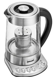 Bella Pro Series - Pro Series 1.7L Electric Tea Maker/Kettle - Stainless Steel
