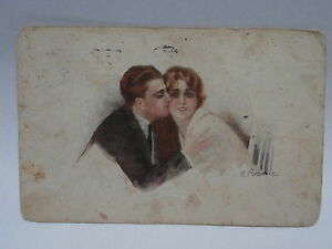 Cuivre Carte Postale Illustré Fp VG 1923 Postcard