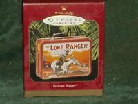 Hallmark 1997 The Lone Ranger - Lunch Box - Pressed Tin Ornament - NEW  (BIN #1)