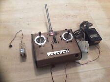Vintage Ripmax Futaba serie 6 RC sistema transmisor M conjunto de control