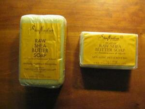SheaMoisture Raw Shea Butter Anti-Aging Face and Body Bar Soap 8oz / 230g