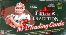 2000 Fleer Tradition Football Hobby Box. Brady Rookie Year