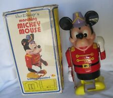 VTG WALT DISNEY Marching Band MICKEY MOUSE w/Original Box