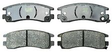 Disc Brake Pad-Organic Rear ACDelco 17D698