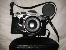 Praktica Camera Mtl3 - Tessar 2.8/50 Carl Zeiss Jena DDR lens