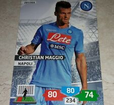 CARD ADRENALYN 2013/14 CALCIATORI PANINI NAPOLI MAGGIO CALCIO FOOTBALL