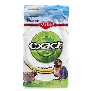 Kaytee Exact Hand Feeding Formula Baby Macaw Bird Food, 5-lb bag