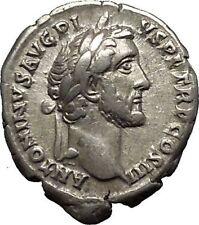 Antoninus Pius Marcus Aurelius Father Silver  Ancient Roman Coin Equity  i53351