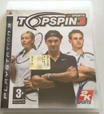 TOP SPIN 3 GIOCO PS3 PLAYSTATION 3 ITALIANO OTTIMO SPED GRATIS SU + ACQUISTI